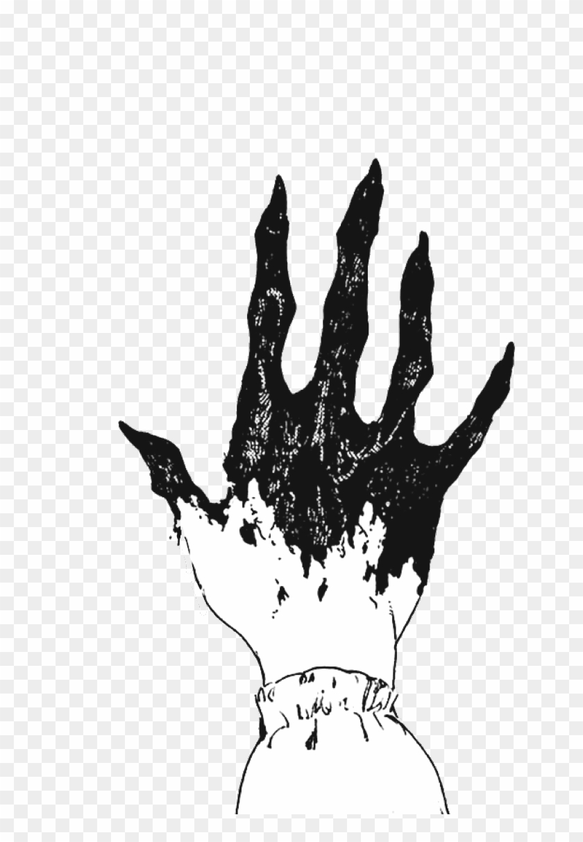 Drawing Creepy Aesthetic Transparent Clipart Free Download.