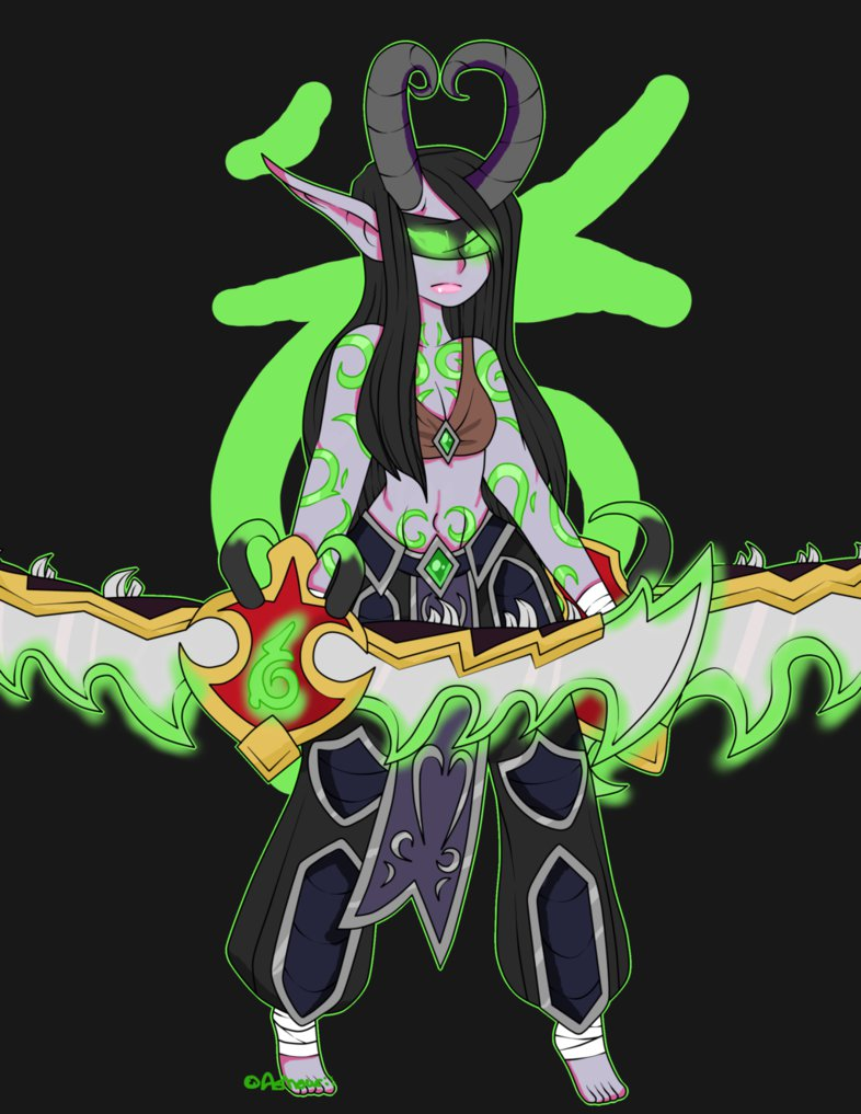 Demon Hunter by Ashourii on DeviantArt.