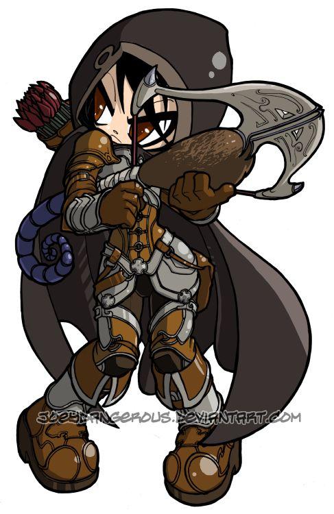 Diablo 3 Demon Hunter by ~JoeyDangerous on deviantART.