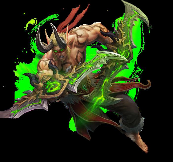 Demon Hunter Png Vector, Clipart, PSD.