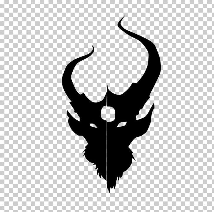 Demon Hunter Logo Oh PNG, Clipart, Antler, Art, Artwork, Black.