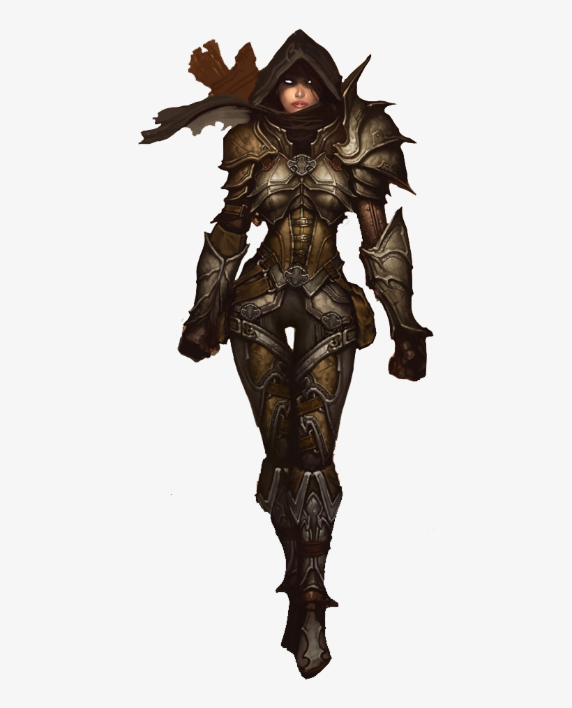 Diablo 3 Demon Hunter Png.