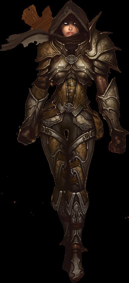 Download Diablo 3 Demon Hunter Png.