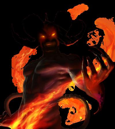 Demon PNG.