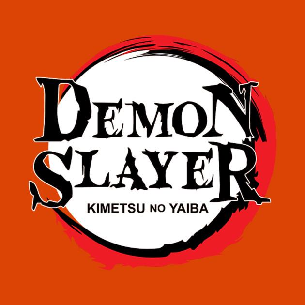 Kimetsu no Yaiba demon slayer logo.
