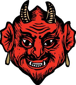 Satan Clipart.