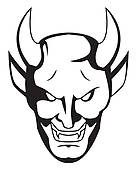 Demon Clip Art Illustrations. 16,095 demon clipart EPS vector.