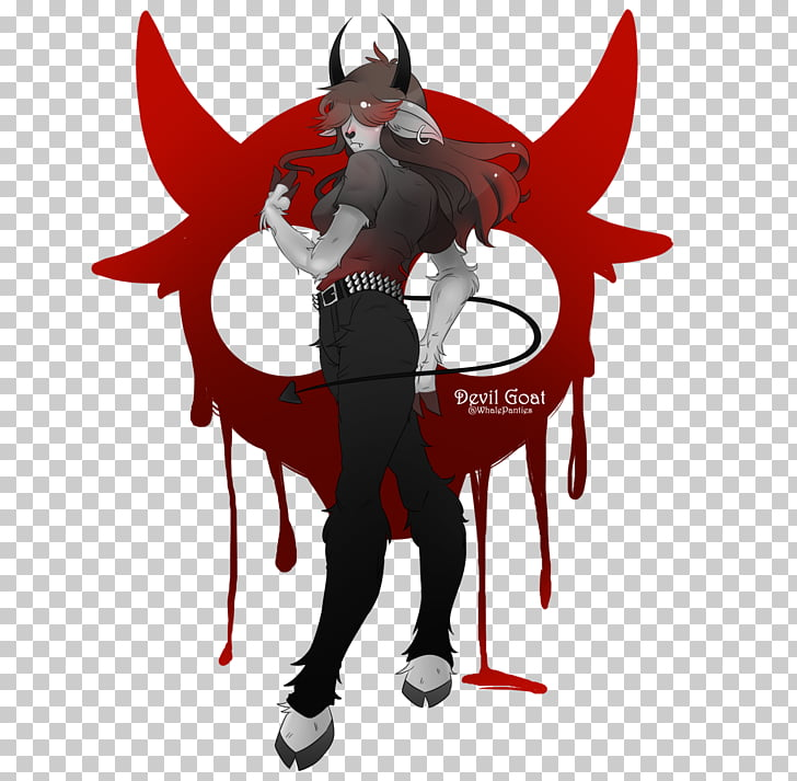 Demonio cabra fan art diablo demonio PNG Clipart.