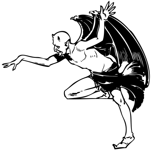 Free Demon Clipart.