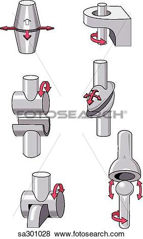 Stock Illustration of Illustration of different types and.
