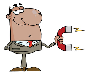 Magnet Clipart Image.