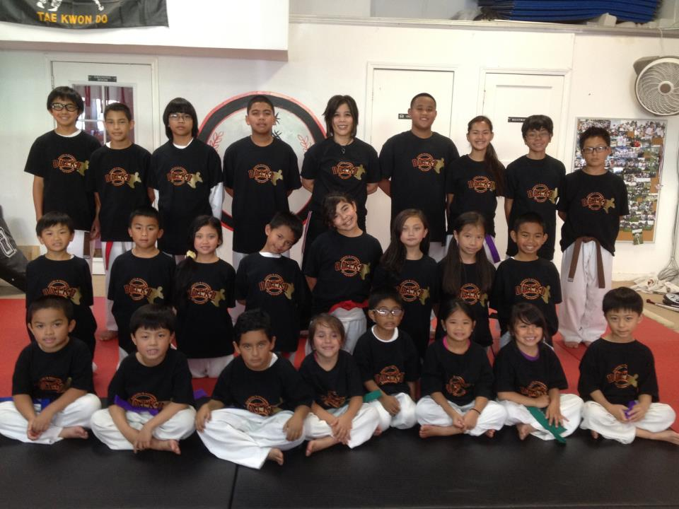Dancel's Academy Of Tae Kwon Do Demonstration Team T.