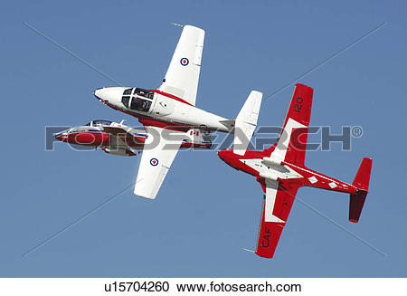 Stock Photography of The Snowbirds Demonstration Team (431.
