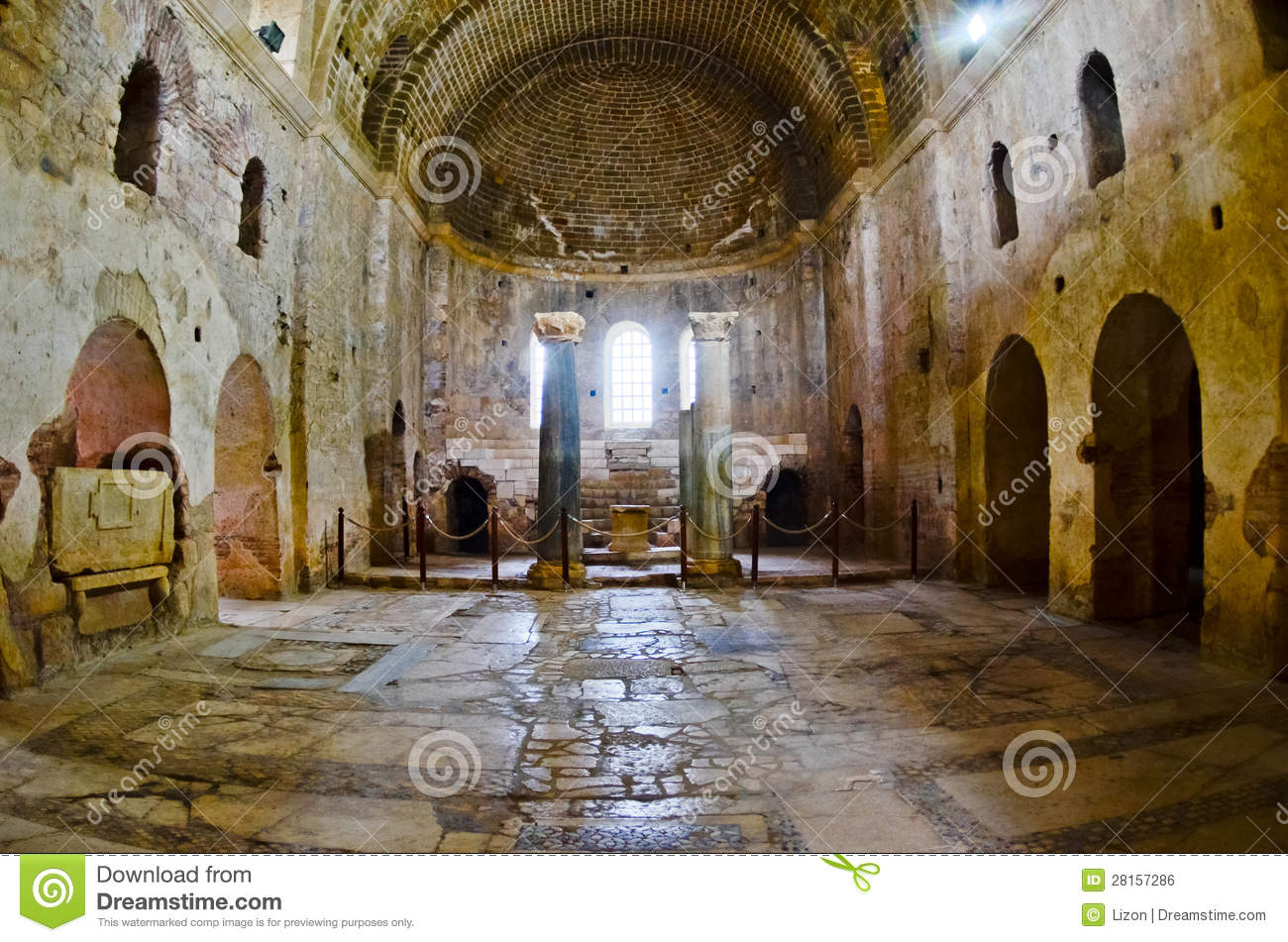 St. Nicholas Church, Demre. Turkey. Myra. Orthodox Royalty Free.
