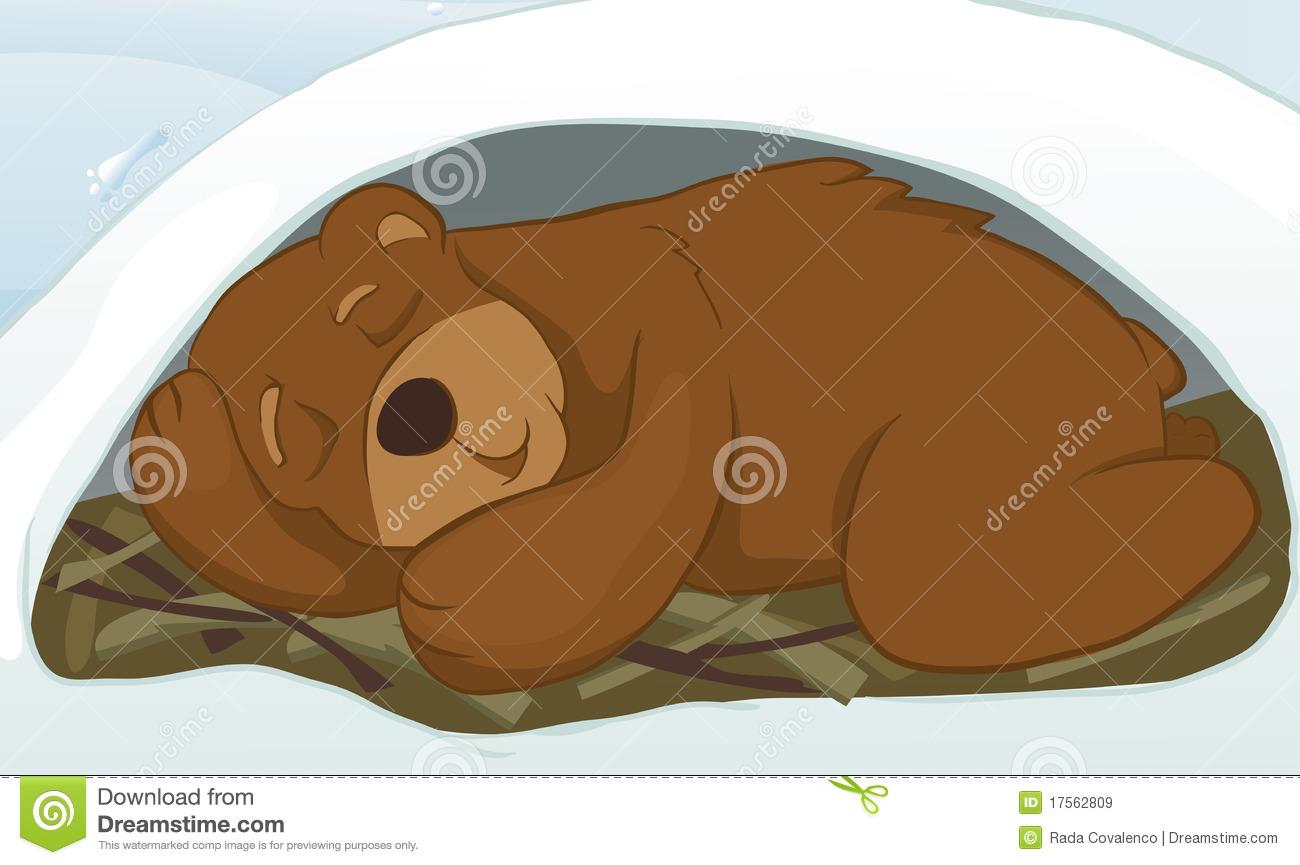 Bear Den Clipart.