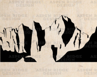 Mt. Denali Mt. McKinley Graphic Clip Art by theaspenridge on Etsy.