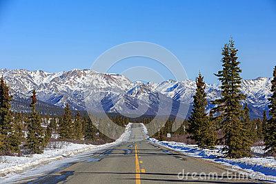 Denali National Park And Preserve Stock Photo.