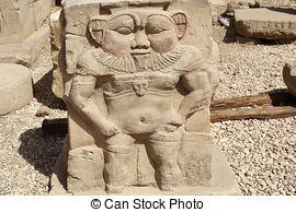 Stock Photo of Dendera Temple Egypt.