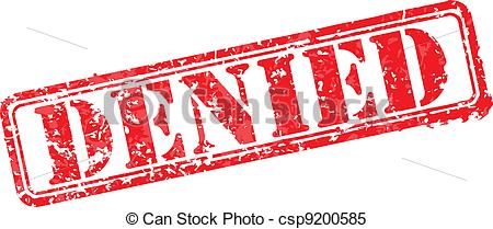 Denied Stock Illustrations. 13,894 Denied clip art images and.