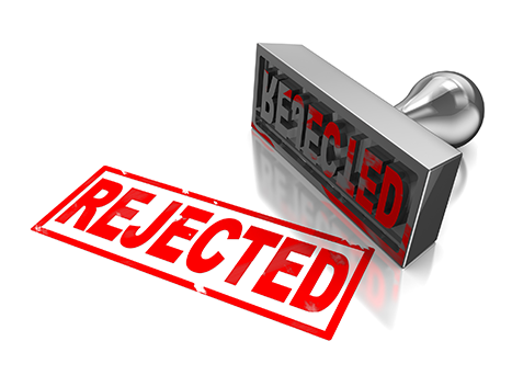 Rejected Stamp PNG Image.