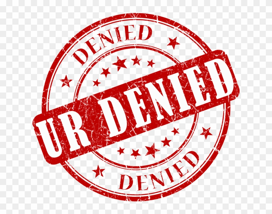 Denied Stamp Png Transparent Images.