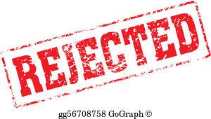 Rejected Stamp Clip Art.