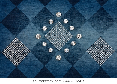 Denim And Diamonds Clipart & Free Clip Art Images #18739.