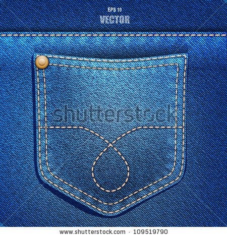 how to make jeans border