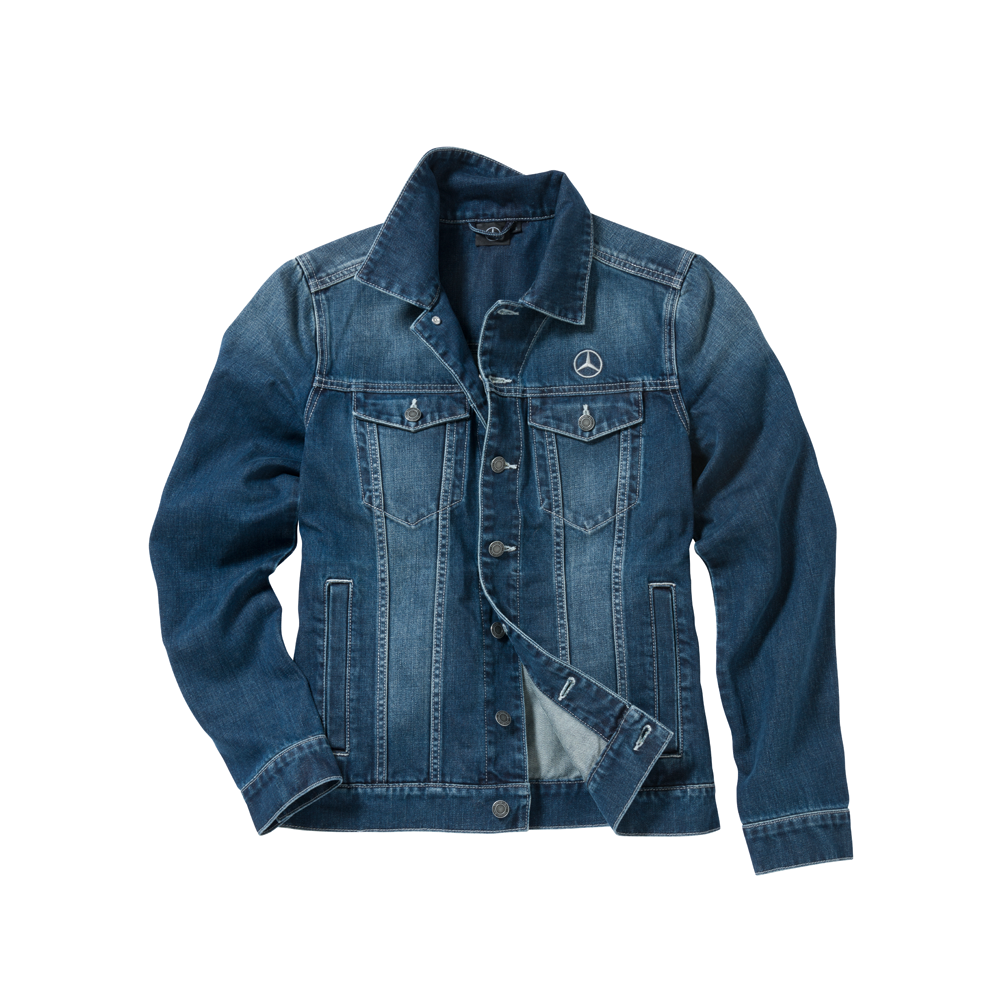 men's denim jacket.