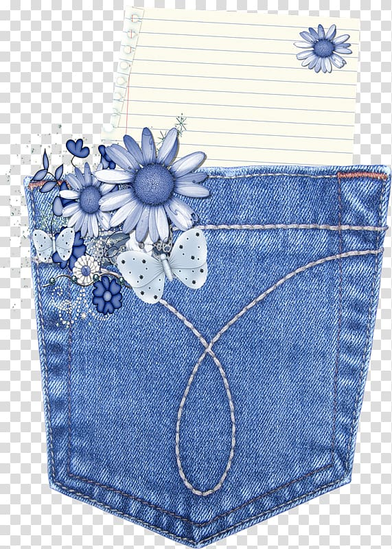 Jeans Denim Pocket, jeans transparent background PNG clipart.