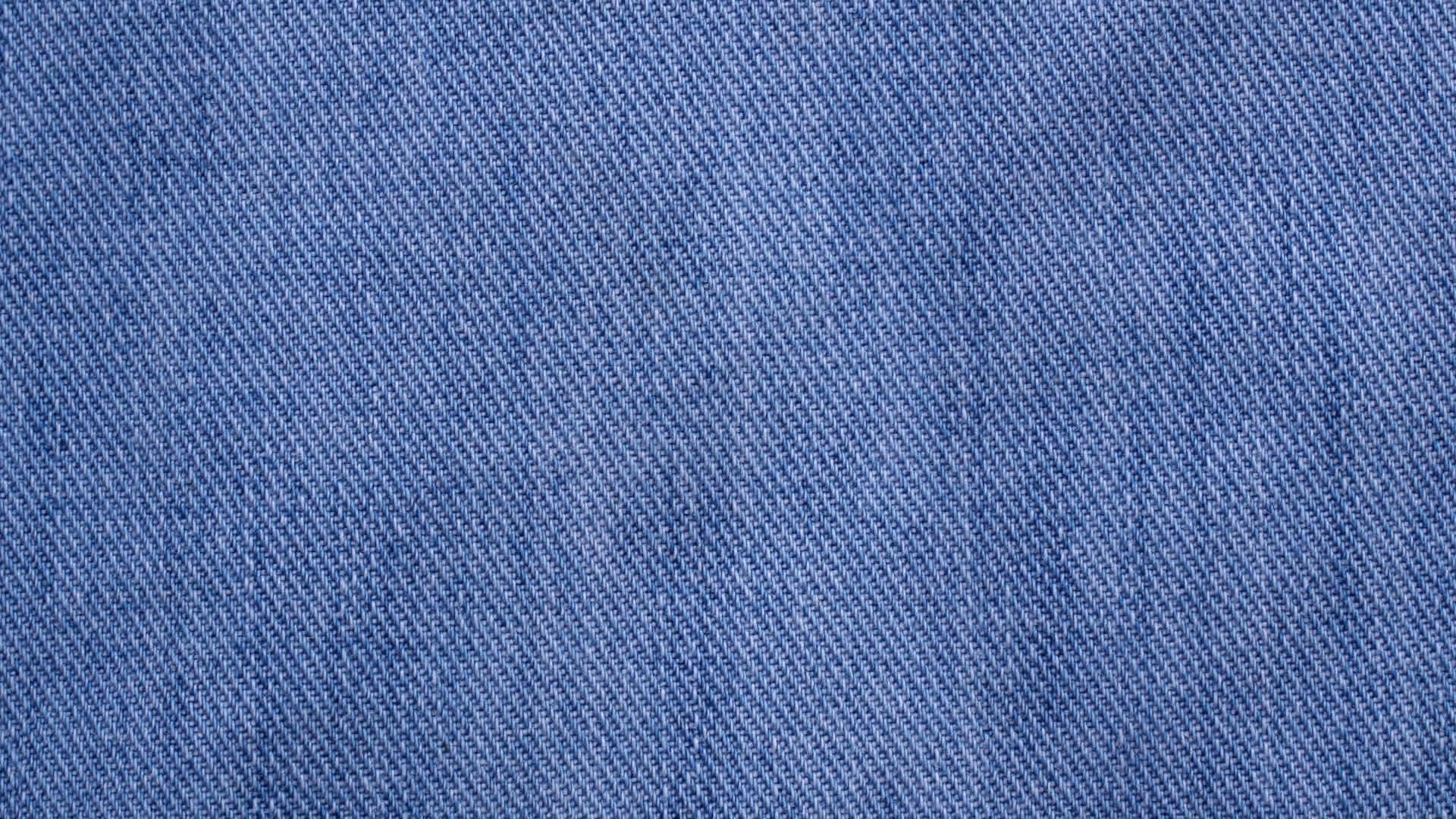 footage blue denim or jeans texture background. Stock Video Footage.