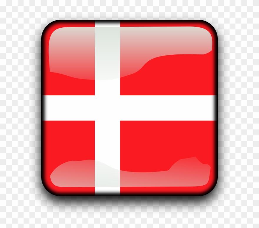 Flag Of Denmark Clipart (#448207).