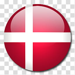 World Flags, Denmark icon transparent background PNG clipart.