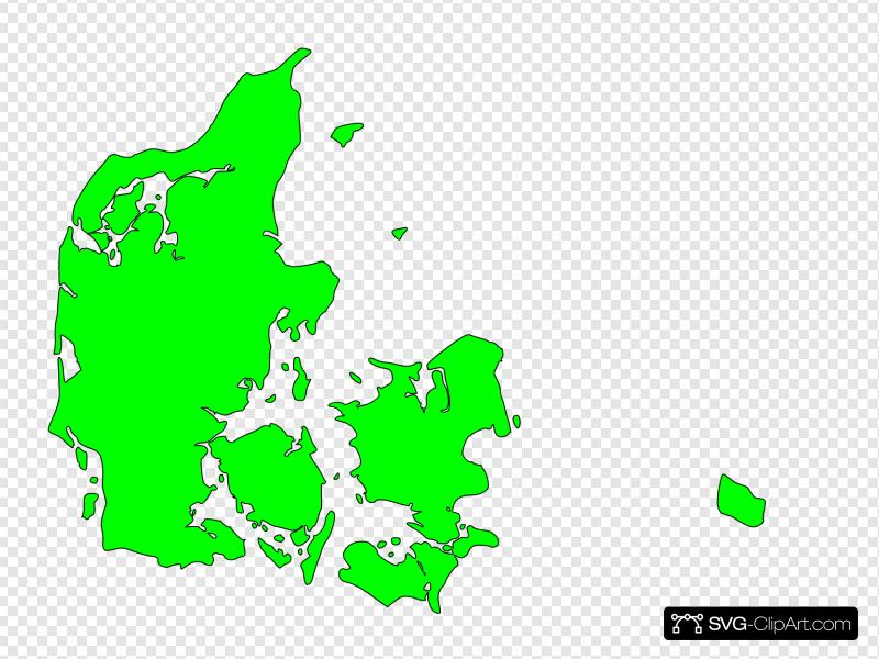 Denmark Green Clip art, Icon and SVG.