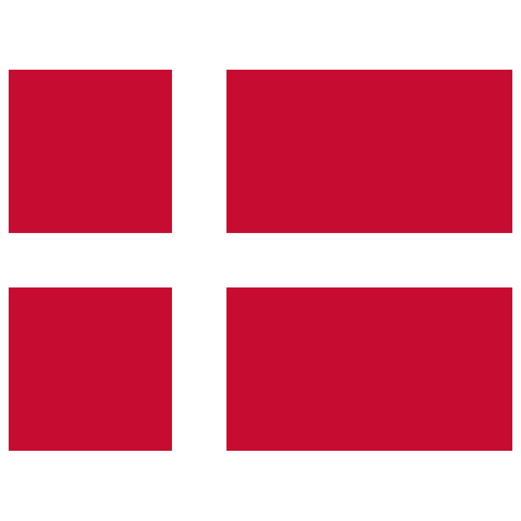 DK Denmark Flag Icon.