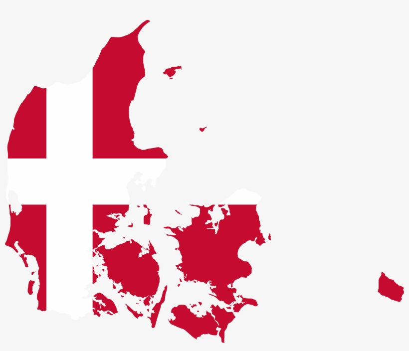 This Free Icons Png Design Of Denmark Map Flag.