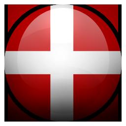 Danish, denmark, dk icon.