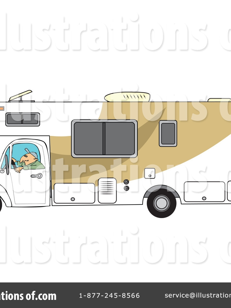 Free download Royalty RF Camper Clipart Illustration by.