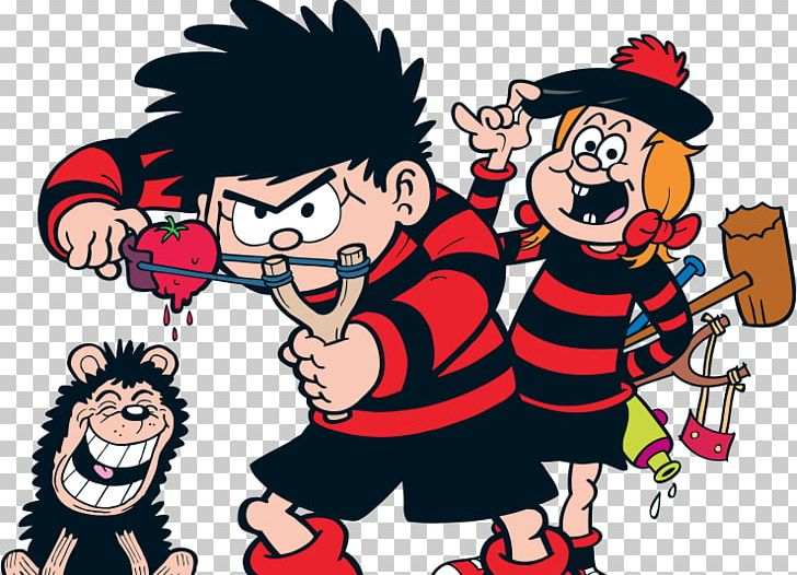 Breakfast Restaurant Comic Book Dennis The Menace And Gnasher.