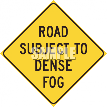 Royalty Free Clipart Image: Road sign.
