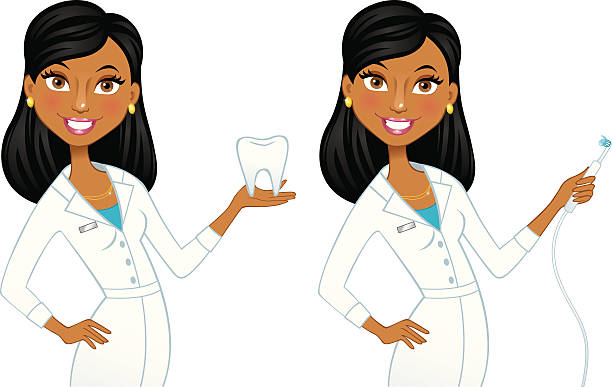 Best Dental Assistant Illustrations, Royalty.