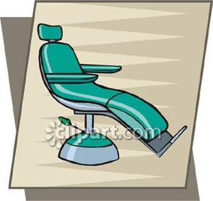 A Dental Exam Chair.
