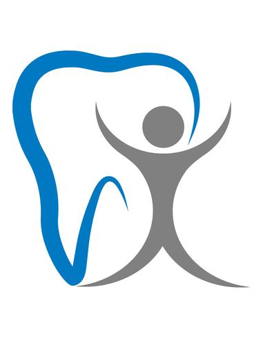 logo for a dental clinic vector illustration.