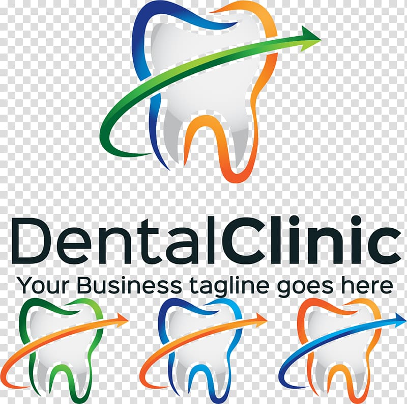 Dental Clinic advertisement, Dentistry Clinic Tooth Logo, Dental.