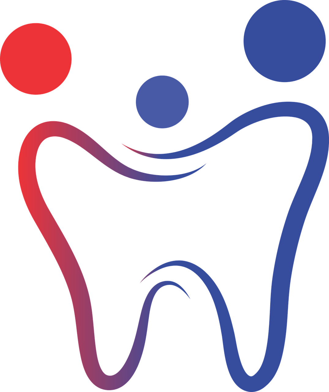 Dental Clinic Logo Tooth Care PNG.
