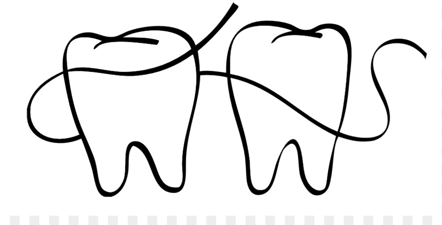 Dental Floss Drawing.