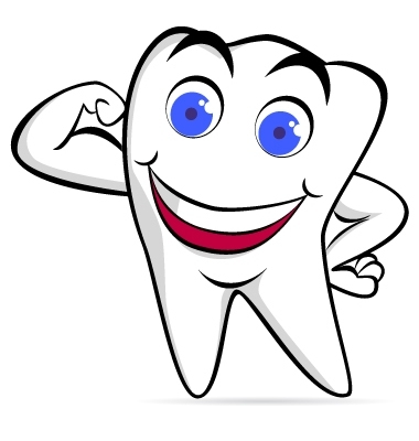 Dental care clipart.
