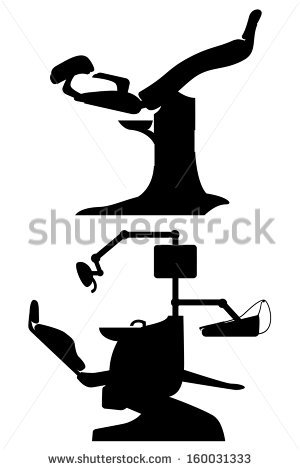Dentist Silhouette Stock Images, Royalty.