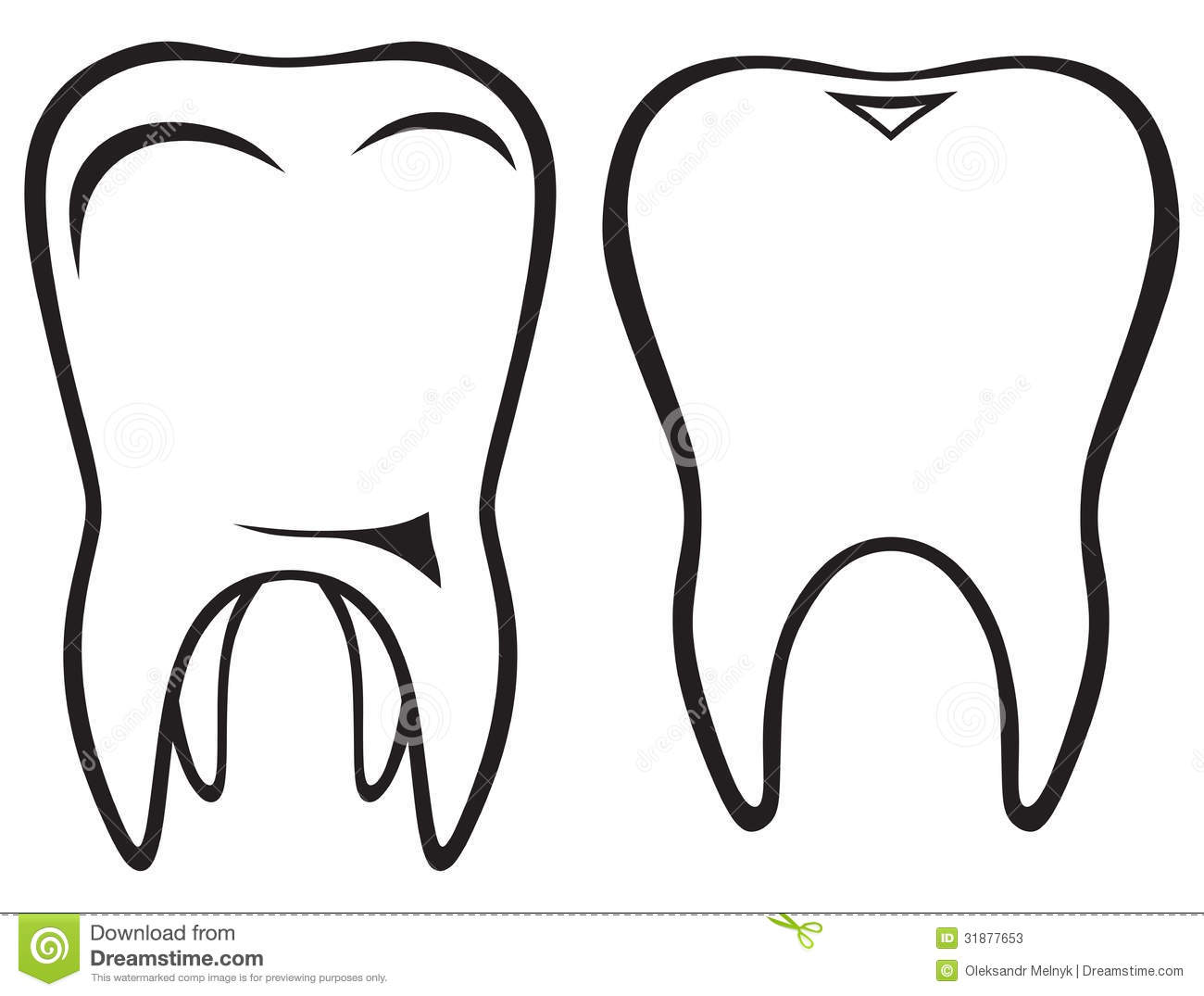 Tooth Icon Stock Photos.