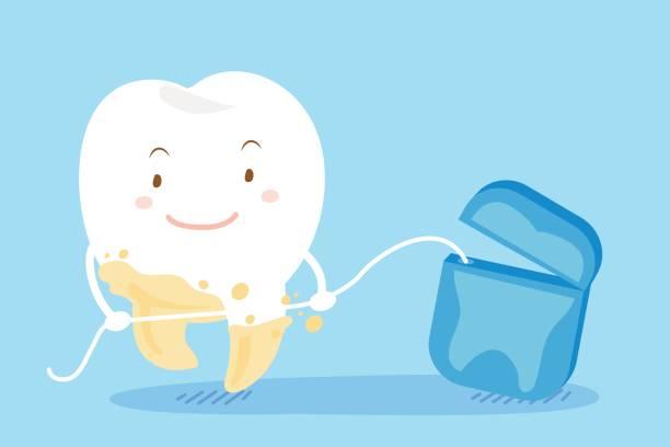Best Dental Floss Illustrations, Royalty.
